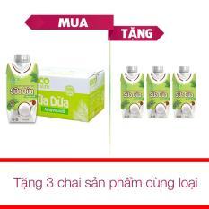 Thùng 12 Hộp Nước Sữa Dừa Nguyên Chất Cocoxim ( 330ml ) + Tặng 3 Hộp Cùng Loại