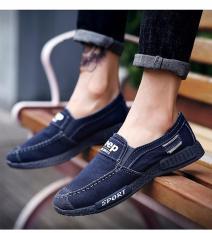 Giày lười nam , giày lười vải thời trang Hàn Quốc