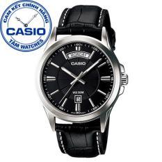 Đồng hồ nam dây da Casio Standard Anh Khuê MTP-1381L-1AVDF