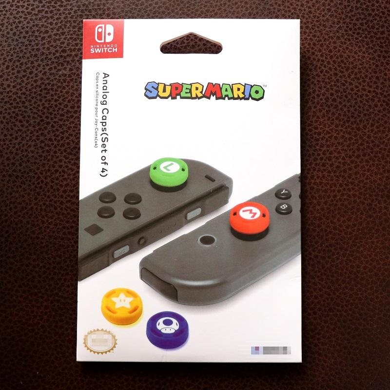 Núm bọc Super Mario cho Analog của Joycon - Nintendo Switch