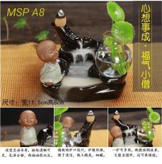 Thác khói trầm hương Msp A8 Lưu ý sp ko có chiếc lá tặng 10 viên trầm