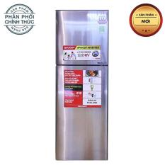 Tủ Lạnh Sharp Inverter SJ-X281E-DS, SJ-X281E-SL – 253 Lít (Bạc)