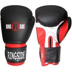 Găng tập new pro style sparring gloves Ringside (Đen đỏ)