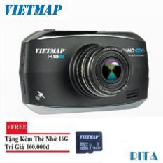 Giá KM Camera hành trình Vietmap X9S GPS Wifi + Thẻ nhớ 16gb