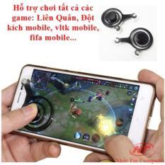 Nút điều khiển chơi Game online mobile Joystick – bộ 2 tay trái phải (đen)