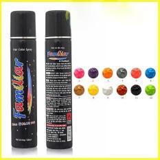 Keo xịt tóc màu Familiar 100ml – Màu k2 xám chồn