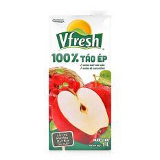 Combo 6 hộp nước Táo ép 100% Vinamilk Vfresh 1L
