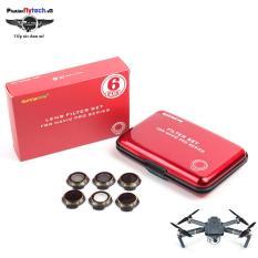Combo 6 kính filter lens camera Mavic pro – Hàng nhập khẩu – DJI Mavic pro accessory – Phụ kiện mavic pro