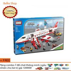 Xếp hình lego gudi 8913 – Máy bay chở khách – 856 chi tiết