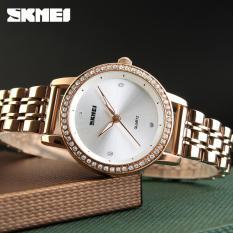 Đồng hồ nữ Skmei 1311 Dây thép không rỉ Mặt 31mm