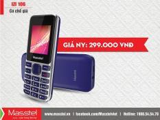 [Hàng hot] Điện thoại di động Masstel Izi 106 1000000993