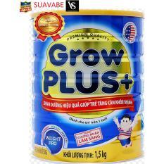 Sữa bột Nuti Grow Plus + 1.5kg (Xanh)