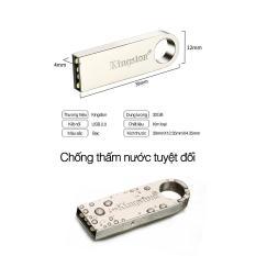 USB 32GB Kingston chính hãng vỏ kim loại , sao chép dữ liệu nhanh, usb chống nước – Bảo hành lỗi 1 đổi 1