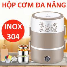 Hộp cơm hâm nóng cắm điện ruột inox Cooker DFH-2001