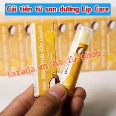 Son dưỡng môi Cocoon Lip Care trị thâm, dưỡng môi tự nhiên 5g