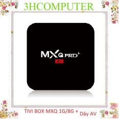 Android Tivi box MXQ PRO 4K RAM 1G HDD 8G ANROID 7.1.2