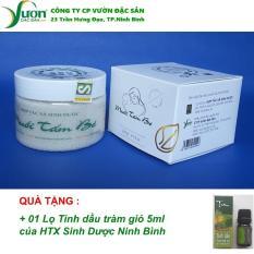 Muối tắm bé Sinh Dược 200g (Tặng kèm 01 Tinh dầu tràm) -Muối tắm thảo dược 100% tự nhiên an toàn cho bé -VDS.,jsc