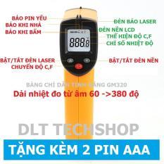 (Tặng Pin)BENETECH GM320 MÁY ĐO NHIỆT ĐỘ HỒNG NGOẠI ĐA NĂNG KHÔNG CHẠM BẢN LASER(Hàng nhập khẩu)