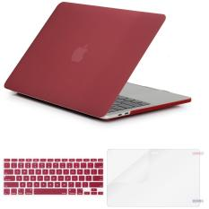 MacBook Air 13 Inch Matte Plastic Pattern Hard Case Shell with Keyboard Cover & Screen Protector for MacBook Air 13 Inch (Model: A1369/A1466)