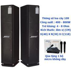 Loa đứng karaoke RXS 109 (tặng micro không dây)
