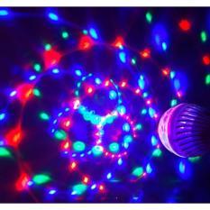 Đèn LED xoay vũ trường 7 màu đui E27, Đèn LED xoay 7 màu sân khấu, đèn trang trí, Đèn Led karaoke, Đèn Led vũ trường – Đức Hiếu Shop