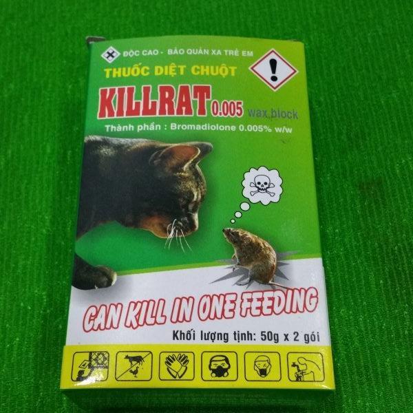 Thuốc diệt chuột Killrat hộp 100gr