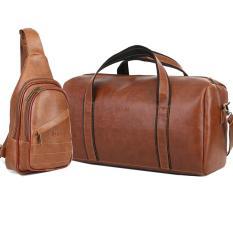 SET túi du lịch cao cấp HANAMA TẶNG kèm túi đeo chéo N6 S16