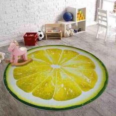 Thảm 3D trải sàn hình trái cây ( giao màu ngẫu nhiên)