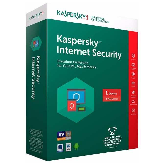 Giá Kaspersky Internet Security 1PC/năm Tại Shop bách hóa online 1990