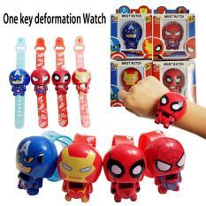 Đồng hồ điện tử đeo tay nhân vật Siêu anh hùng: Người Nhện – Người Sắt…