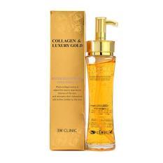 Tinh chất dưỡng trắng, tái tạo da chống lão hóa 3W Clinic Collagen Luxury Gold 150ml