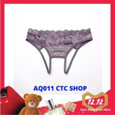 Quần Lót Nữ Không Đáy Sexy Nữ Tính Thoáng Mát Xinh Xắn Cao Cấp – Mẫu AQ011 (CTC SHOP)