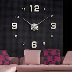 Đồng hồ dán tường nghệ thuật DIY (Lớn) – Số Lớn Nhỏ
