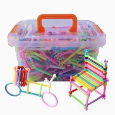 Xếp hình Que 3D 400 chi tiết KamiToy – Hộp nhựa – đồ chơi trẻ em đồ chơi xếp hình lego