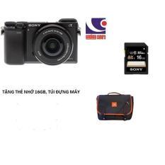 Máy ảnh Sony ILCE-A6000L kit lens 16-50mm Tặng thẻ nhớ 16gb, túi đưng máy – HÀNG CHÍNH HÃNG