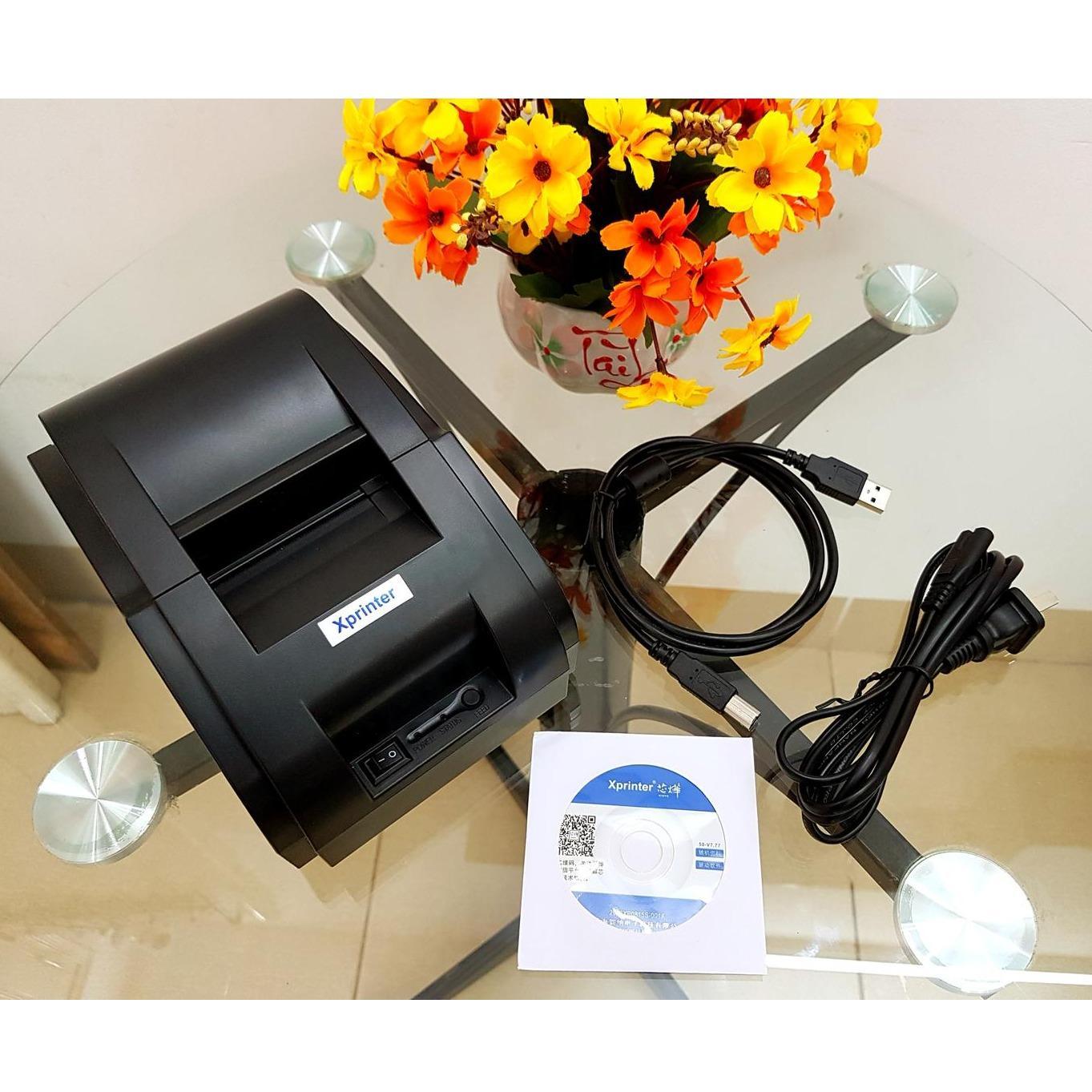 So sánh giá Máy in hóa đơn Xprinter 58 Tại Thiết Bị Bán Hàng Thông Minh
