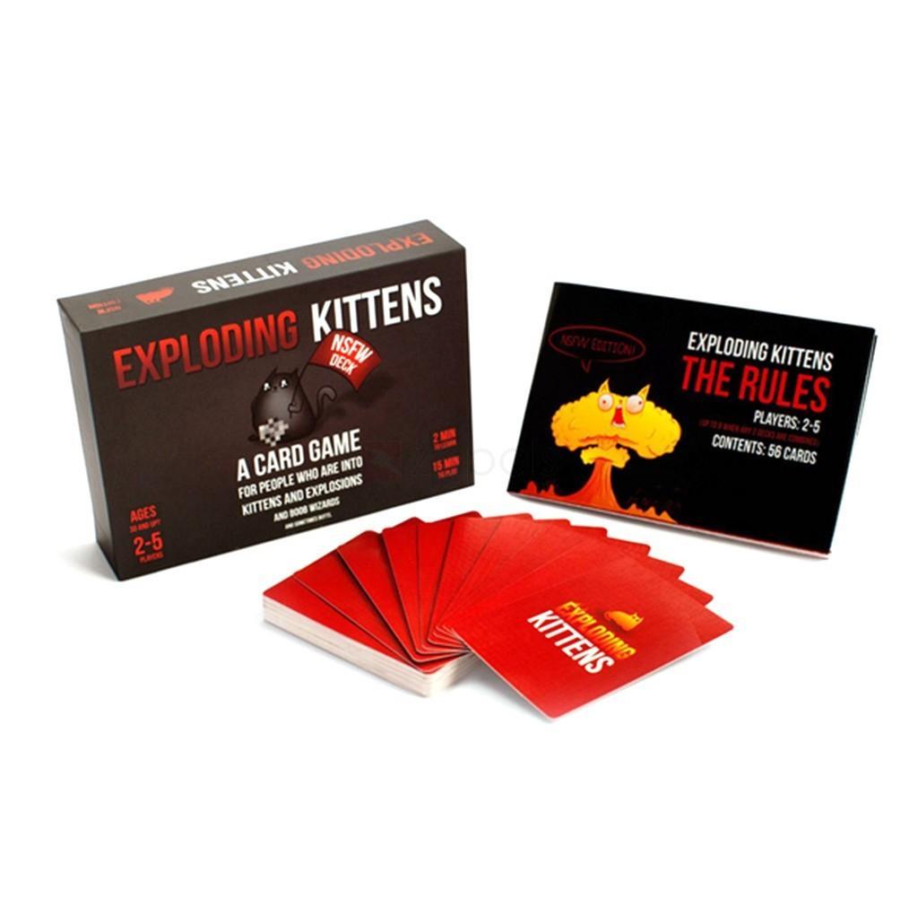 Bài Mèo nổ Exploding Kittens cơ bản mèo cảm tử bản đẹp Boardgame