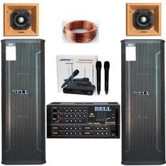 Dàn nhạc karaoke BELL gia đình PA – 3 tấc đôi cao cấp