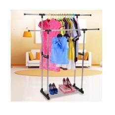 Giàn Phơi Đôi Lắp Ráp 2 tầng Inox Cao Cấp SH250iv, cây treo quần áo inox, Giàn phơi quần áo thông minh. BIG SALE tới 50% chỉ hôm nay