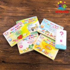 Combo 5 Thẻ Học Flashcards Song Ngữ Anh-Việt Benrikids Kèm Thẻ Học Chữ Và Số, Thẻ Học Thông Minh (Ngẫu Nhiên)