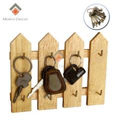Hàng rào chìa khoá 4 thanh – treo chìa khoá tiện lợi