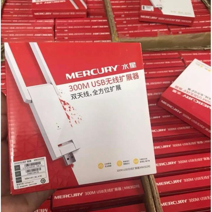 Bảng Giá Bộ Kích Sóng WiFi Mecury 300M 2 Râu ( Trắng ) Tại Phụ kiện H.M