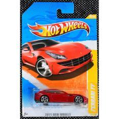 ô tô mô hình tỉ lệ 1:64 Hot Wheels Ferrari FF 2011 New Models ( Màu Đỏ )