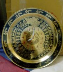Tranh đồng hồ mặt trống đồng đường kính 55cm