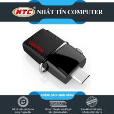 USB OTG Sandisk 3.0 Ultra Dual 32GB 150MB/s (Đen)