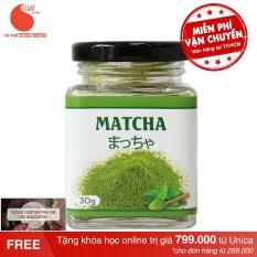 Bột trà xanh nguyên chất nhập khẩu Nhật – GreenD Food – Hũ 30g