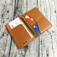 Ví đựng passport da bò, Ví đựng passport hộ chiếu, bao da passport, vỏ bao hộ chiếu da bò handmade – Zachi PP722