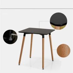 Kachi BE3– Bàn vuông Eames FT-02 màu đen