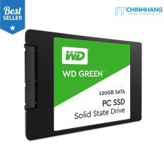 Ổ cứng SSD WD Green 120GB SATA 2.5 inch – HÃNG PHÂN PHỐI CHÍNH THỨC