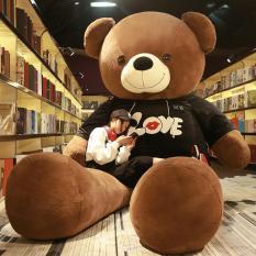Gấu Ôm Búp Bê 2 M Gấu Bông Búp Bê Búp Bê Con Gái Ngủ Đáng Yêu Gấu Nhung Lông Đồ Chơi Tặng Bạn Gái